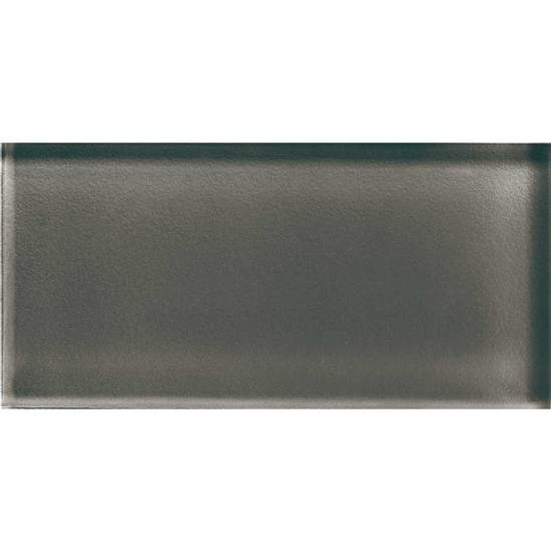 Supplier: American Olean, Series: Color Appeal Glass, Name: C119 Mink - Glossy, Type: Brick Subway Glass Tile, Size: 3X6