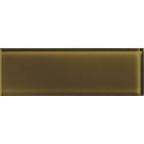 Supplier: American Olean, Series: Color Appeal Glass, Name: C113 Sable - Glossy, Type: Brick Subway Glass Tile, Size: 4X12