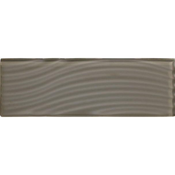 Supplier: American Olean, Series: Color Appeal Entourage Glass, Name: C119 Mink - Glossy, Type: Brick Subway Glass Tile, Size: 4X12