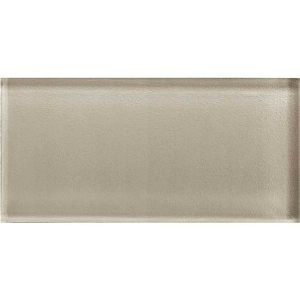 Supplier: American Olean, Series: Color Appeal Glass, Name: C103 Oxford Tan - Glossy, Type: Brick Subway Glass Tile, Size: 3X6