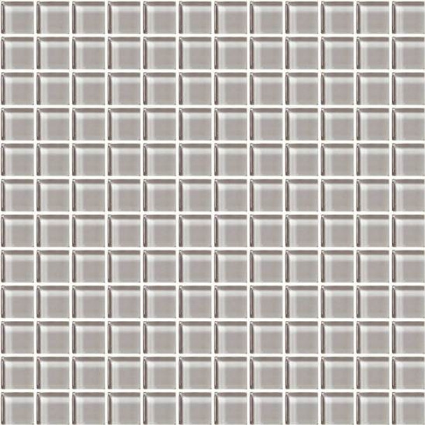 Supplier: American Olean, Series: Color Appeal Glass, Name: C120 Cloudburst - Glossy, Type: Glass Tile Mosaic, Size: 1X1