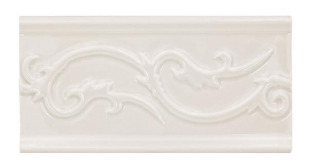 Daltile - Fashion Accents - Polaris Astrid Listello - 0135 Almond - 4 X 8 Ceramic Decorative Border Liner Tile