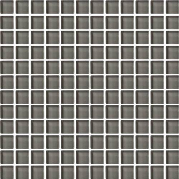 Supplier: Daltile, Series: Color Wave, Name: CW09 Kinetic Khaki - Glossy, Color: White, Category: Glass Tile, Size: 1 X 1