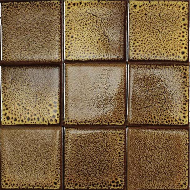 Bristol Studios - Cosmic - G2262 Solar - 4X4 Handcrafted Decorative Tile - $7.99