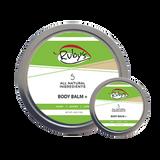 Body Balm Plus 4 oz wax tin with mini 1 oz tin