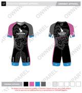 Yogi Triathlete 2019- Short Sleeve Tri Suit- Joey Cut- PINK