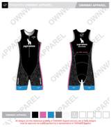 Yogi Triathlete 2019- Sleeveless Tri Suit - PINK