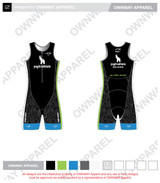 Yogi Triathlete 2019- Sleeveless Tri Suit- GREEN