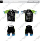 Yogi Triathlete 2019- Short Sleeve Tri Top- GREEN