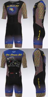 The Simon Shi Official Short Sleeved Pro Triathlon Suit