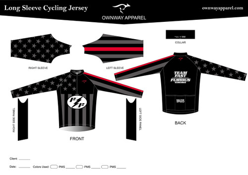 FAST-AND-FURIOUS Long Sleeve Jersey