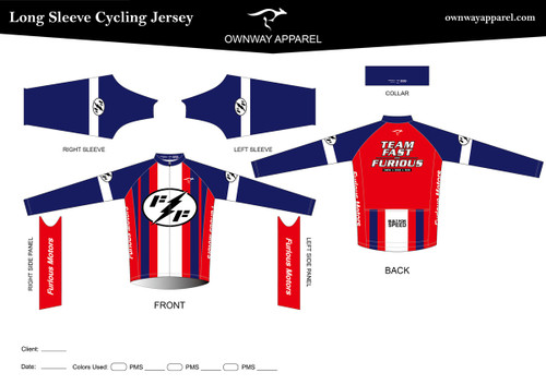 FAST-AND-FURIOUS Long Sleeve Thermal Jersey