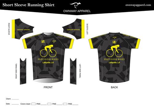 PRECISION-BIKES Running Shirt