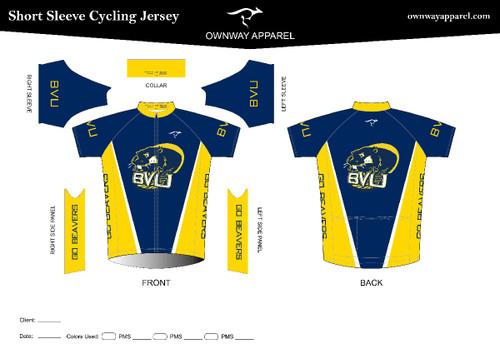 BVU Short Sleeve Jersey- Elite