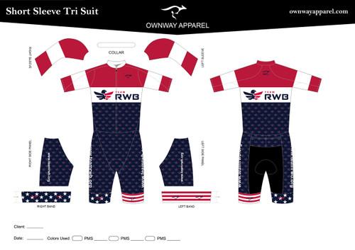 Team RWB Short Sleeve Tri Suit - DESIGN 3