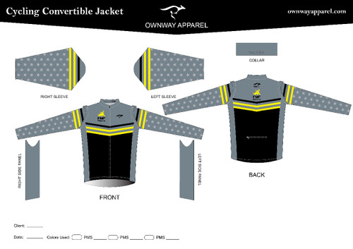 FMF-RACING Convertible Wind Jacket (non-Thermal)