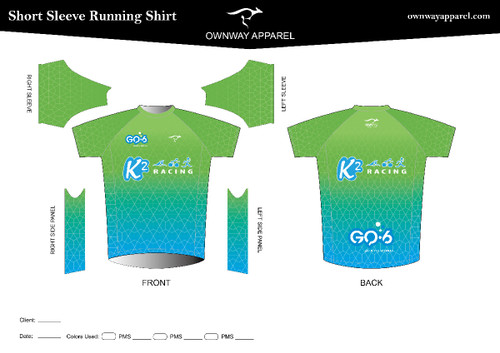 K2-Racing Running Shirt