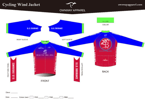 D.I.D. Endurance Cycling Wind Jacket