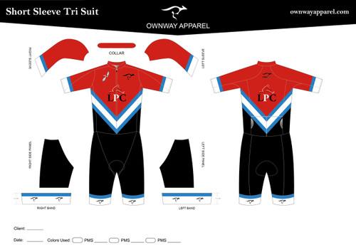 LPC Short Sleeve Tri Suit-