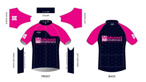 Midcoast Short Sleeve Cycling Jersey