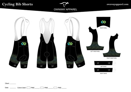 CB MEDICAL GRID DESIGN- BIB SHORTS