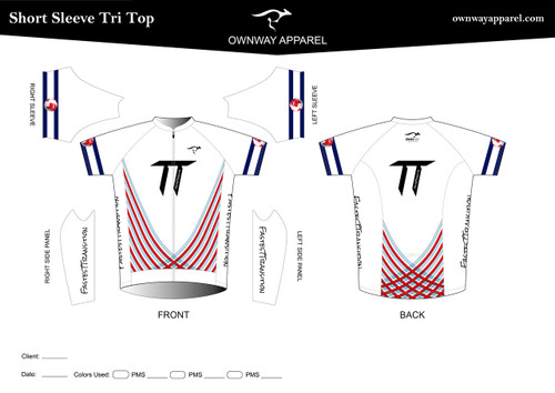 Fastest Transition Short Sleeve Tri Top