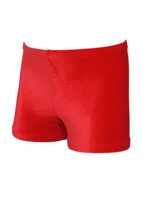 Flame Velvet Shorts