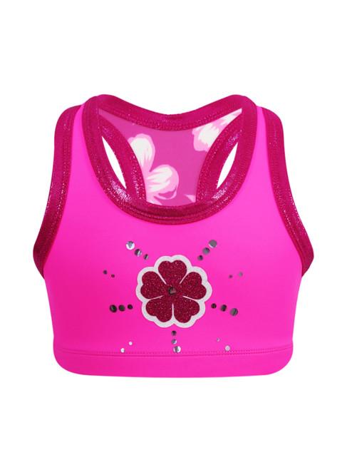 Fabulous Pink Crop Top