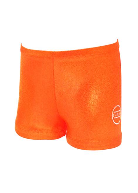 Shiny Orange Shorts