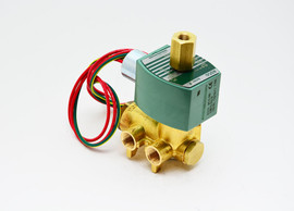 ASCO 8345 - Brass, 4 Way, Solenoid Valve