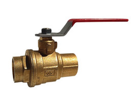 "1"" Red White Valve 5049F - ValveMan.com"
