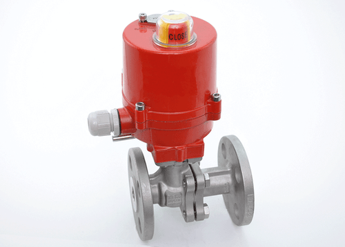 JFlow 2 Piece Stainless Steel Flanged Ball Valve