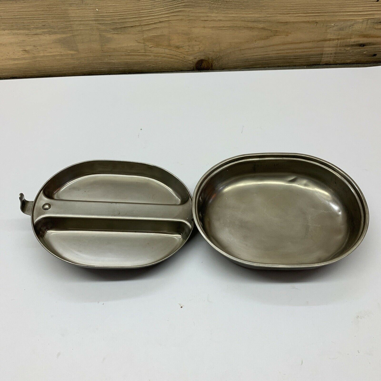 Mess Kit US Military Issue Stainless Steel Mess Kit Regal