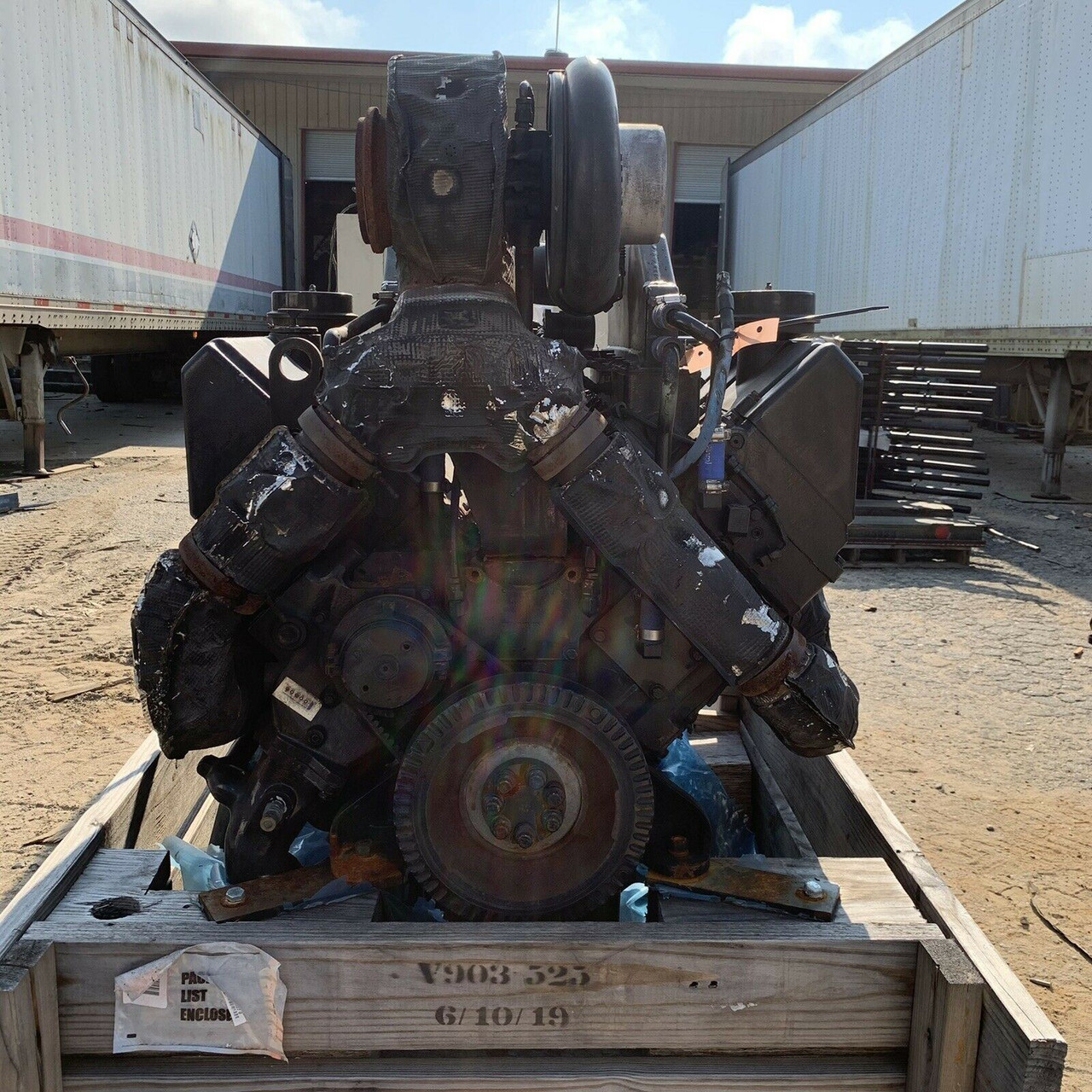 Cummins Diesel Engine VTA 903-T525 (Big Cam) S/N 37194085