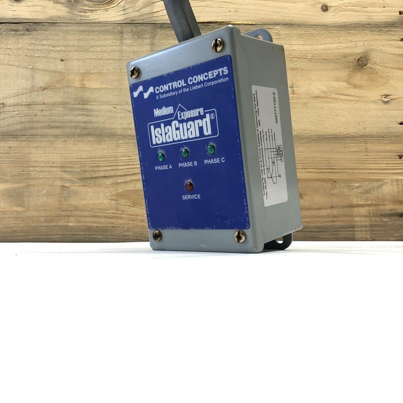 Medium Exposure Islaguard IM277Y100-2 Control Concepts 277/480V 3-Phase Wye