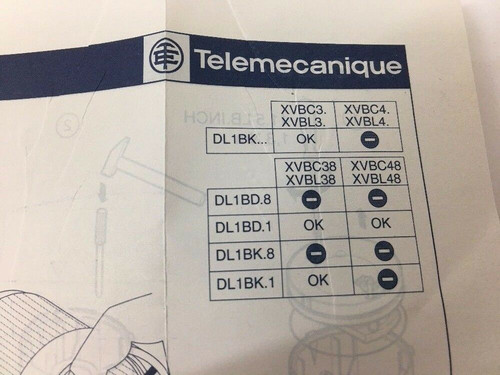 Illuminated Beacon and Signaling Indicating Bank XVBC/L3 XVBC/L4 Telemecanique