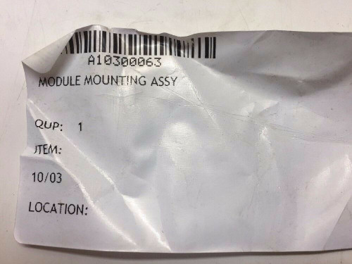 Module Mounting Assembly A10300063