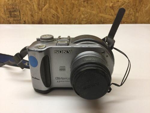 3MP Digital Camera MVC-CD300 Sony 3x Optical Zoom