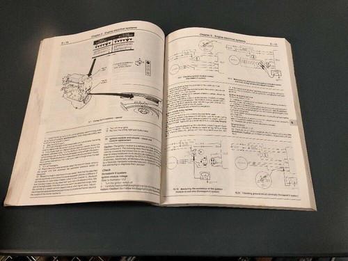 Haynes Repair Manual #789 Ford Escort and Mercury Lynx 1981-1990