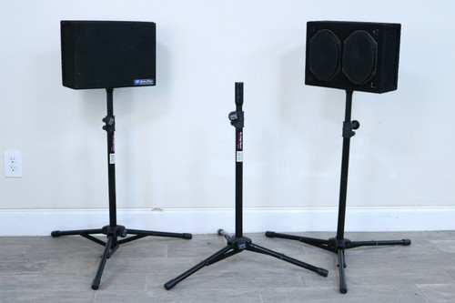 AmpliVox Portable Sound Systems with Case Wireless Portable 50W Amp 900MHz