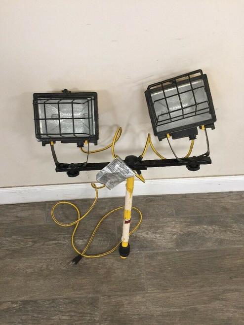 Lightweight Heavy Duty Tripod Dual Light 6760-00-X04-4911 Yellow