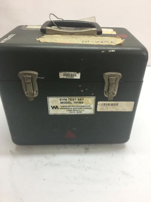 EVM Test Set Model 101M3 Vibro-Meter