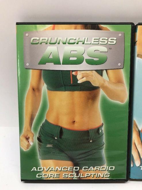 Linda LaRue Crunchless Abs DVD Set of 4