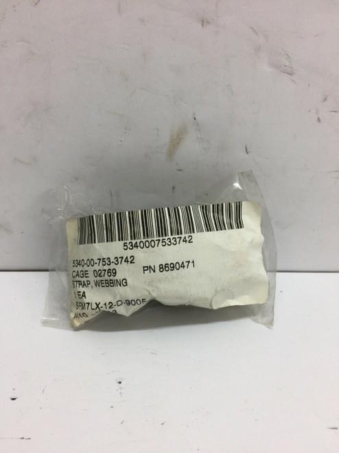 Webbing Strap 8690471 Metal Clip Olive Drab Hmmwv Cargo M998