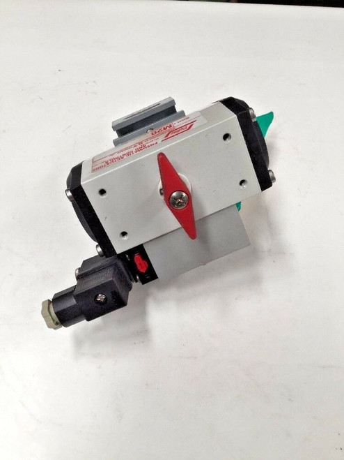 Unitorq Pneumatic Actuators & Controls M20 150 Max PSIG M20 20 Series Valve