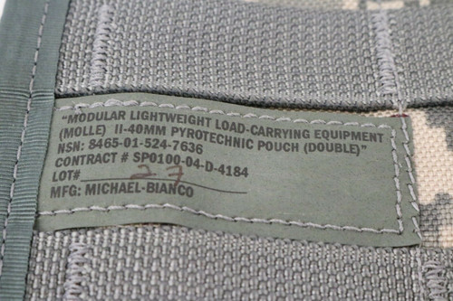 Double Pyrotechnic Pouch CO/PD-02-02 MOLLE Universal Camouflage II-40mm