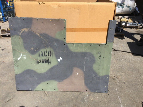 H120 Heater Side Panel Woodland Camouflage