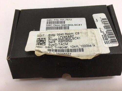 1000BASE-LX 10km SMF GBIC Transceiver SMCBGLSCX1 SMC Networks Black Box