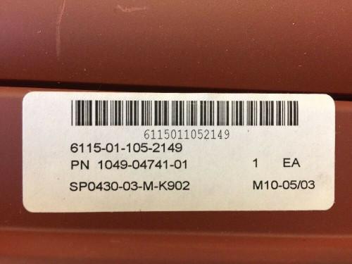 Shutter Assembly 1049-04741-01 Kysor Red Aluminum