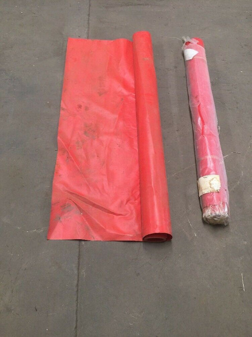 5' Wide Red Vinyl (Lot of 2) - Unknown Length